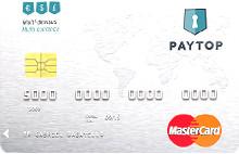 Carte compte sans banque Paytop
