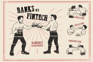 la hache de guerre soit désormais enterrée entre les banques et les fintechs