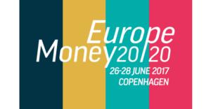 néo banque britannique Starling Bank lors du salon Money 2020 à Copenhague