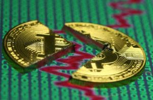Repli du Bitcoin les crypto monnaies krach boursier