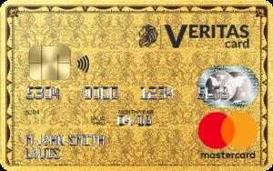 La carte prépayée Veritas MasterCard est disponible en NFC
