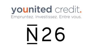 Younited Credit la banque mobile N26 lève 160 millions de dollars